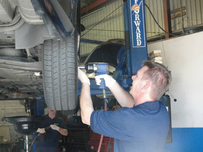 Technician At Work | Keep It New Auto Service
